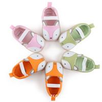 Baby Fox Soft Sole First Walker Shoes Infant Cartoon Kids Pr...