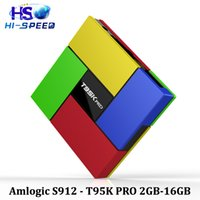 android s912 tv box 2g16g T95K PRO T95 2. 4G 5G Bluetooth 3D ...