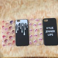 Hotest Fashion Kylie Jenner Étui de téléphone cellulaire pour Iphone 7 / 7Plus / 6s / 6sPlus / 5s Soft TPU Étuis Iphone Clear Case Livraison gratuite