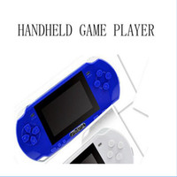 PMP2 LCD 3.0 pouces Screen HD Consoles de jeux portables Game Palyer MP3 MP4 32 Bit Video Game Player 1G Built-in Games Support TF Card Gift