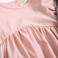 Baby Girls Dresses KIDS Newest Summer Dress Fly Sleeve Hollo...