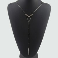 Long diamond necklace NEW Fashion Jewelry For Women Clothing...
