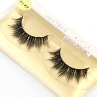Full Strip Mink False Eyelashes 1- 1. 5cm Hand Made Synthetic ...