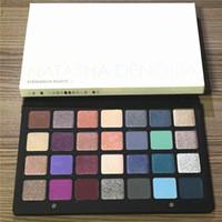 28 COULEURS Natasha Denona Cosmétique Maquillage PURPLE-BLEU VERT-BROWN Imperméable Ombre à Paupières Ombre à Paupières Palette DHL Livraison gratuite