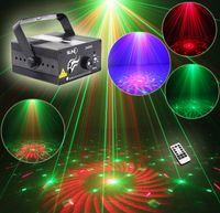 Суни RG 3 Объектив 40 Модели мини лазерный проектор Этап свет синий светодиод Освещение сцены с дистанционным управлением Show Disco DJ Party огни Z40RG