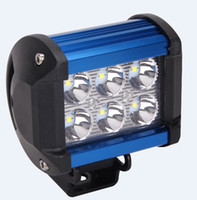 Cree chip LED 18W Work Lamp 4 Inch Light Bar Offroad 12V IP6...