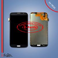 Pour Samsung Galaxy Mega 6.3 i9200 i9205 écran tactile LCD avec numériseur assemblage noir amd blanc couleur Livraison gratuite DHL