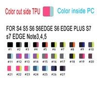 Haut de gamme TPU + PC Robot Housse Housse Avec Stander + Retail Box Pour iPhone 5S 6 6S 7 Plus Pour Samsung S6 S6 bord Plus S7 bord Note 3 4 5
