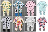 DHL Free!Newest Spring Autumn style baby romper Long sleeve ...