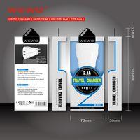5V 2. 1A EU plug Dual USB Output Wall Charger Universal Mobil...