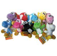 Super Mario Yoshi brinquedo de pelúcia brinquedo de boneca suave para crianças Gift Mario Bros boneca de pelúcia brinquedos de pelúcia dinossauro PPA766