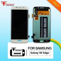 Haute qualité originale pour Samsung Galaxy S6 Edge LCD écran tactile écran digitizer Assemblée G925 G925F G925T G925V G925I G925P G925A