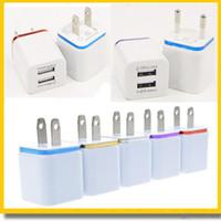 quick Wall Charger US EU Plug 2. 1A AC Power Adapter Dual USB...