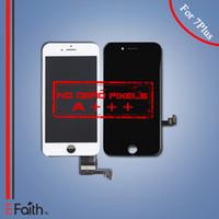 Pour l'iPhone 7 Plus Grade A +++ Écran d'affichage à cristaux liquides Touch Screen Digitizer Panneau Cadre Assemblage Livraison gratuite de DHL
