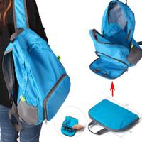 2017 Portable Fashion Travel Backpacks Zipper Soild Nylon Ba...
