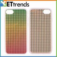 Qualité AAA graduel baisse à deux côtés IMD Case pour iPhone 7 coloré protecteur cas remplacement DHL Livraison gratuite BB0151
