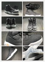 Top Quality with original box retro 11 wool grey Shoes, cheap...