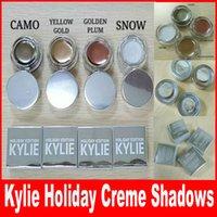 Кайли Холидей Коллекция Creme Shadows Limited Edition Праздник издание Eyeshadow Дженнер Eye Shadow высокого качества