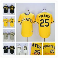 Gregory Polanco Jersey Pittsburgh Pirates #25 Flexbase Coolb...