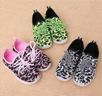 Children LED light shoe children sports shoes fashion shoes ...