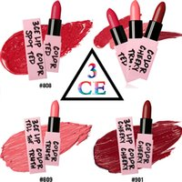 New 3 CONCEPT EYE lipstick lasting do not fade pearl dumb sm...