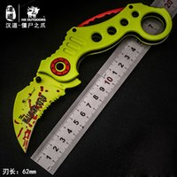 HX OUTDOORS FOX Zombie new karambit field survival knife kni...