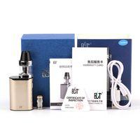 Аутентичные ECT C30 Mini Vaporizer Комплекты E сигарет Комплекты 1200mAh встроенной батареи 2,0 мл стеклянный резервуар 5 цветов 30W Box Mod