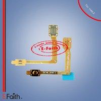 Remplacement du ruban du câble Flex pour bouton de puissance pour Samsung Galaxy Note 2 II N7100 Livraison gratuite