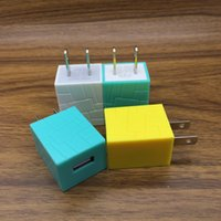 5V 1A Square Shape USB Wall US Plug AC Power Adapter Wall Ch...