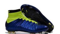 Men Mercurial Superfly FG CR7 Soccer Shoes Children Soccer C...