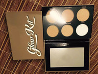 Ultimate Glow Maquillaje Cara Destacando Powder Palette Maquillaje Cosmético Kit DHL free EN STOCK