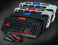 Wireless Keyboard Mouse Combos Set USB 2. 4Ghz 1600DPI Gaming...