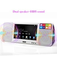 LD- 752A Android portable player Large screen HD LED Dual spe...