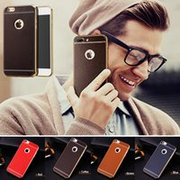For iPhone 7 Case 2017 New Fashion Leather Bling Plating Fra...