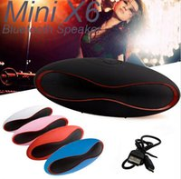 X6 Rugby Bluetooth Speaker Portable Wireless Stereo Speakers...