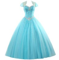 Amazing Rhinestone Crystals Blush Peach Quinceanera Dresses ...