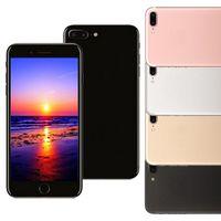 Goophone i7 Plus 5.5inch смартфон 512M / 8G Quad Core MTK6580 Andriod может показать поддельную 1G / 64G WIFI 4G LTE разблокированный телефон