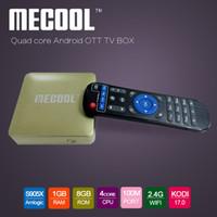 2017 hot Kodi17. 0 MECOOL HM8 Smart TV Box Amlogic S905X Quad...