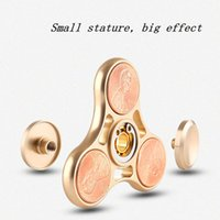 2017 US Dollar Coins Cents Spinner à la main Triangle Metal Hollow Out Fidget Spinners Wear Resistant Spinning fidget spinner sale