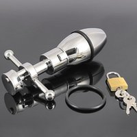 650g Quality 304 Stainless Steel Metal Openable Anal Plugs H...