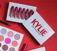 в день складе 12set Дженнер Lipkit Валентина издание Kylie 6pcs множество Помада высокого качества горячей продажи