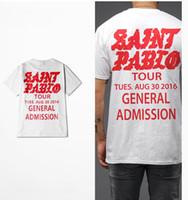 I Feel Like Pablo KANYE west saint pablo tour pablo kanye t-...