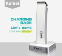 Kemei- 619 Electric Power Push and Cut Charging Barber Genuin...