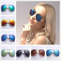 Atacado - 2017 Os óculos de sol novos da forma dos óculos de sol da forma de Sunglass das mulheres modelam os óculos de sol dos homens da forma que livram o transporte A0766