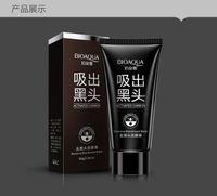 BIOAQUA marque visage soin aspiration masque noir masque facial masque à la tête noire démaquillant éplucher les traitements de l'acné noir tête 60 g