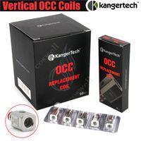 Haut Kanger Rouleau vertical OCC Bobines de remplacement améliorées 0.2 0.5 1.2 1.5ohm fit Kangertech Subtank Mini Nano Plus vapeur cigs atomiseurs DHL
