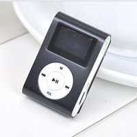 Wholesale- 2017 Portable Mini MP3 Player With LCD Screen Sup...