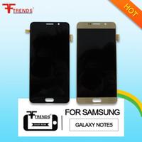 Haute Qualité Pour Samsung Galaxy Note 5 écran LCD et digitizer écran tactile Panneaux Bleu Or Blanc N920 N920V N920A N920T N920P