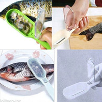practical Fish Scraping Scales Peeler Device Kitchen Cooking...
