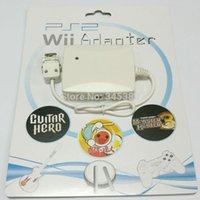 Gamepad Controller Converter Câble adaptateur pour PS2 à W ii connecteurs de port Livraison gratuite